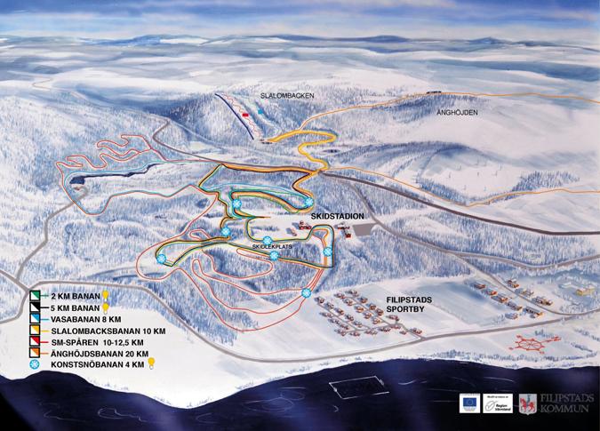 skiën langlaufen värmland zweden