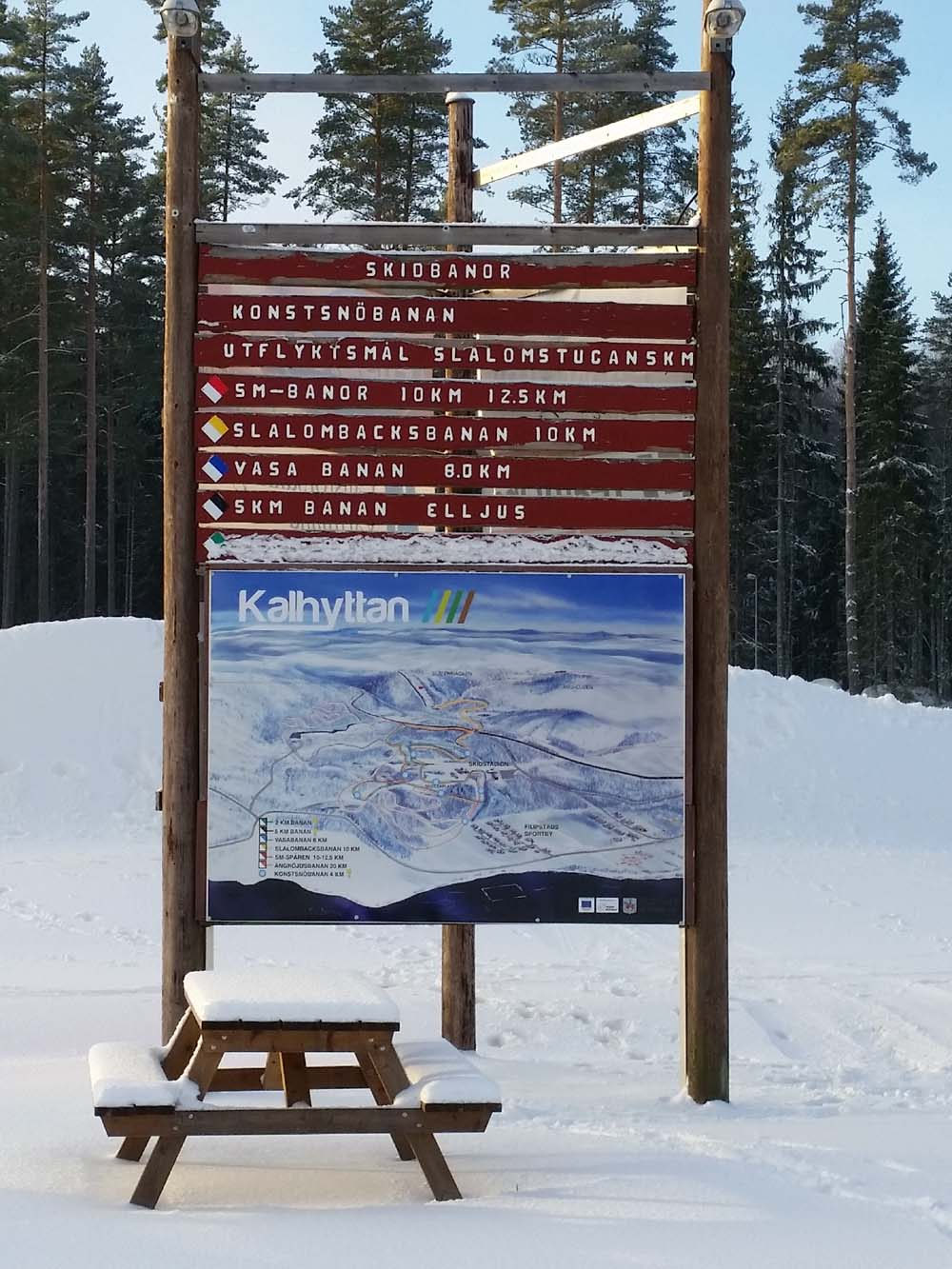 winteractiviteiten zweden