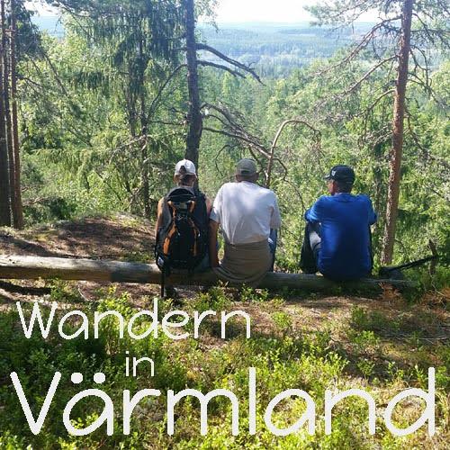 Wandern in Värmland Schweden