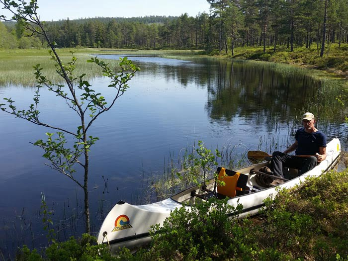 Canoe rental Sweden
