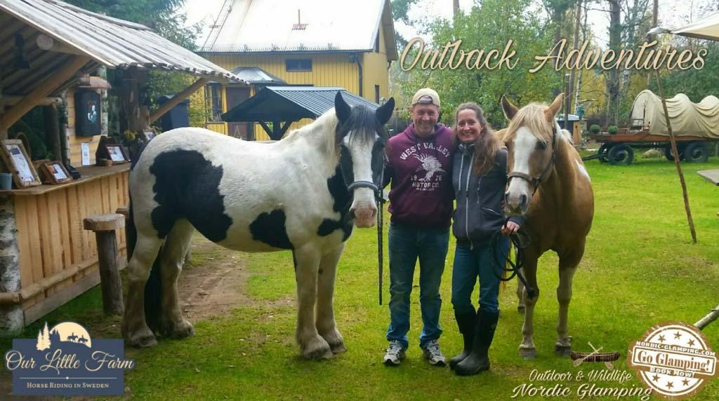 arrangementen paardrijden en kanotochten in Värmland