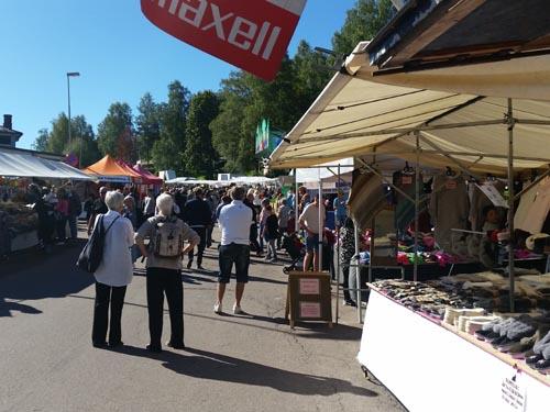 oxhälja de grootste markt in Zweden