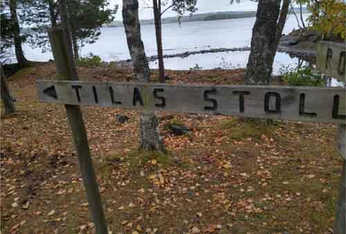 Högbergsfältet naturreservat Tilas stoll